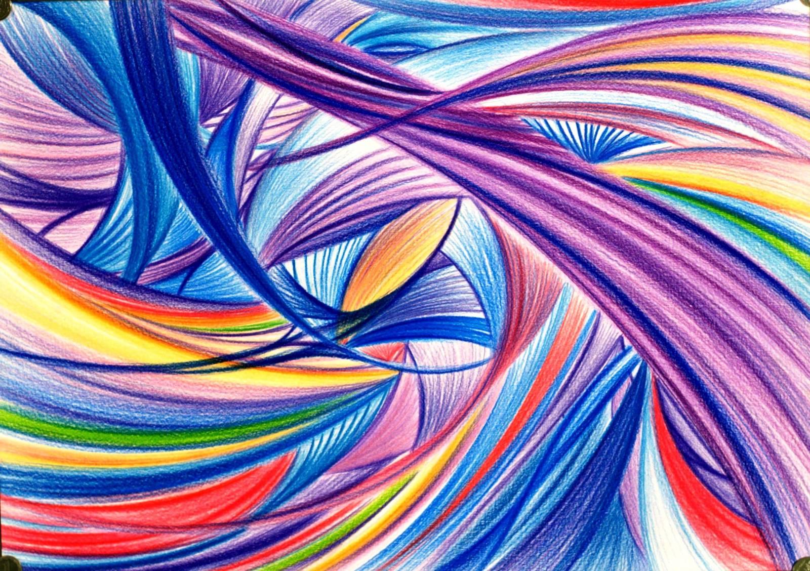 Как и чем нарисовать абстрактные картинки